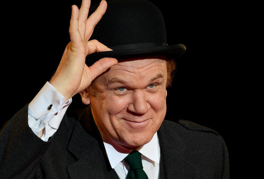 John C. Reilly attending the Closing Night gala screening of Stan & Ollie at the 62nd BFI London Film Festival