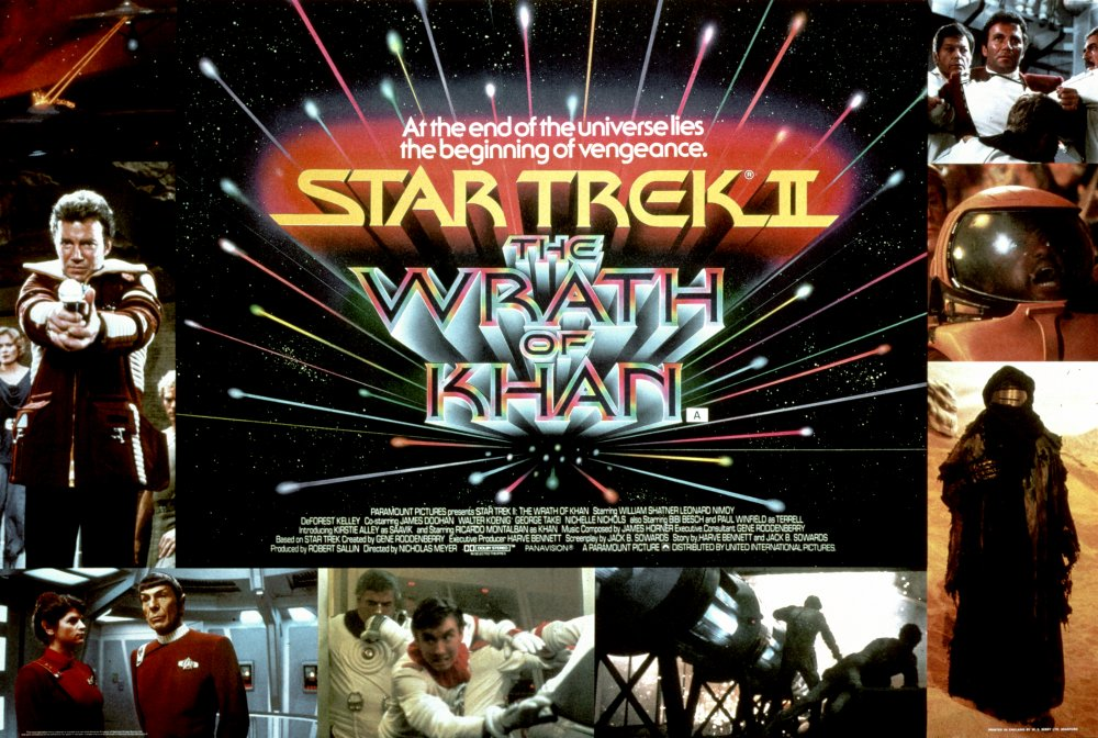Star Trek II: The Wrath of Khan (1982) poster