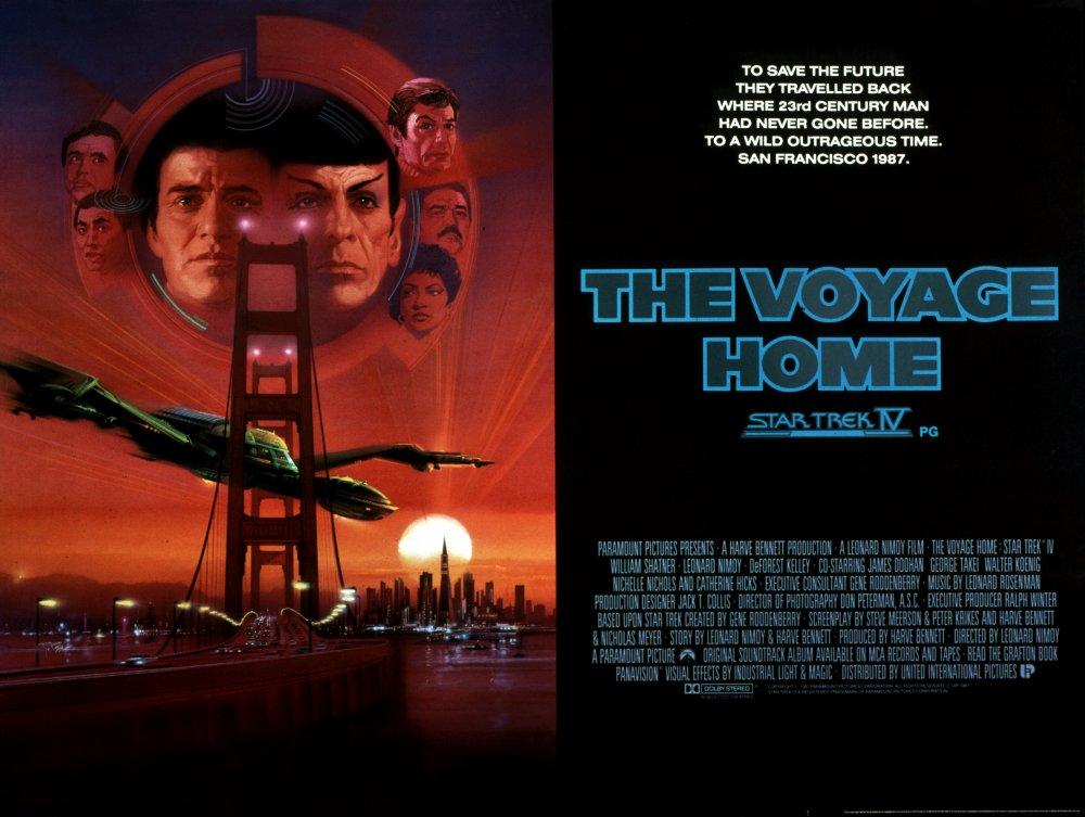 Star Trek IV: The Voyage Home (1986) poster
