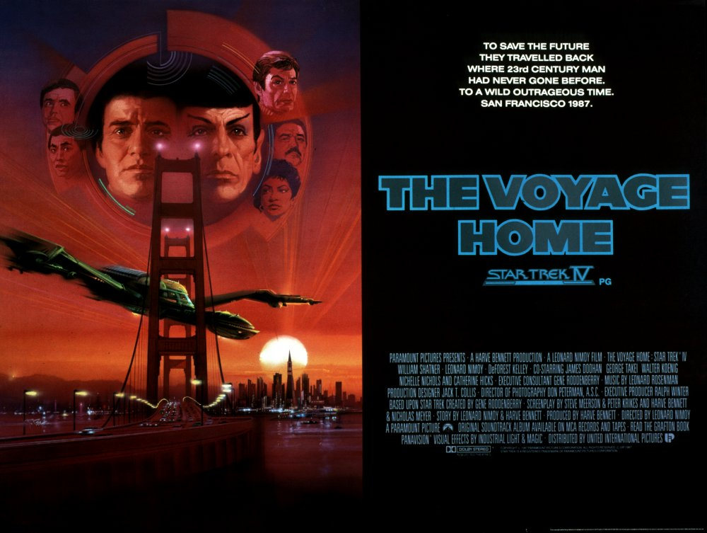 Star Trek IV: The Voyage Home (1986) poster