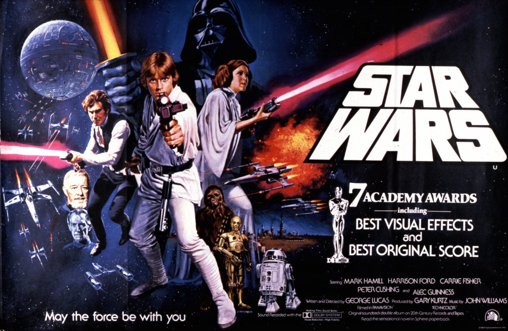 Star Wars (1977) poster