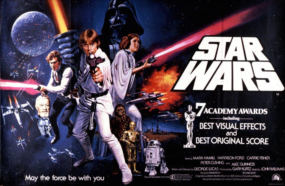 Star Wars (1977) poster