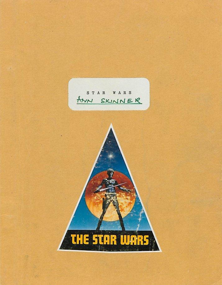 Ann Skinner's continuity script for Star Wars (1977)