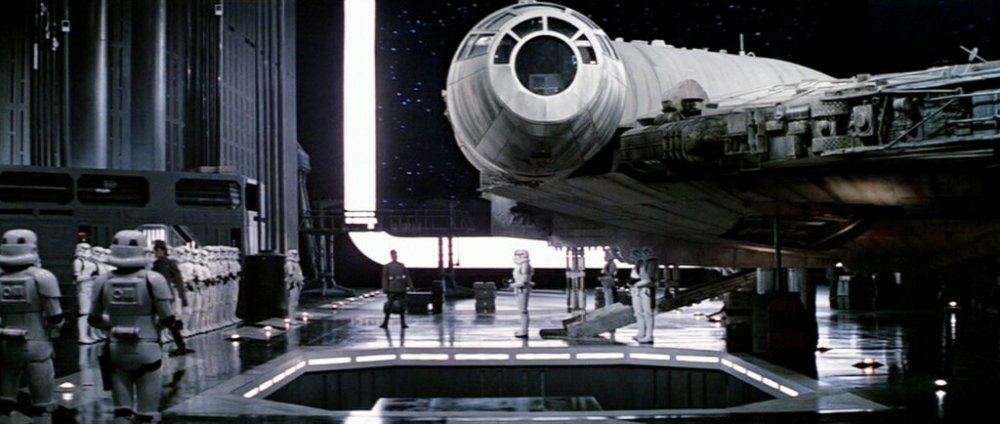 Star Wars: in the hold of the Death Star