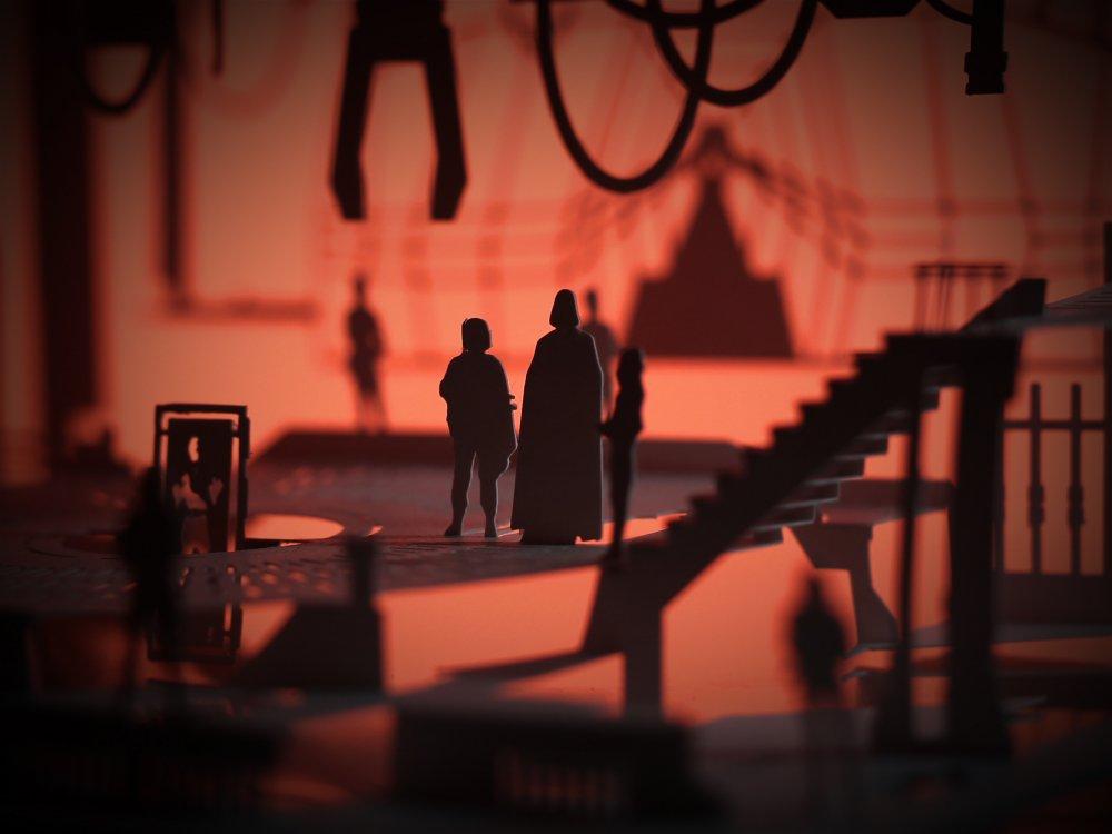 Cut Scene model inspired by Star Wars