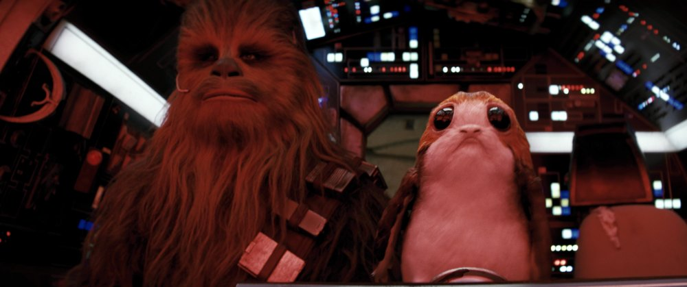 Chewbacca with a Porg