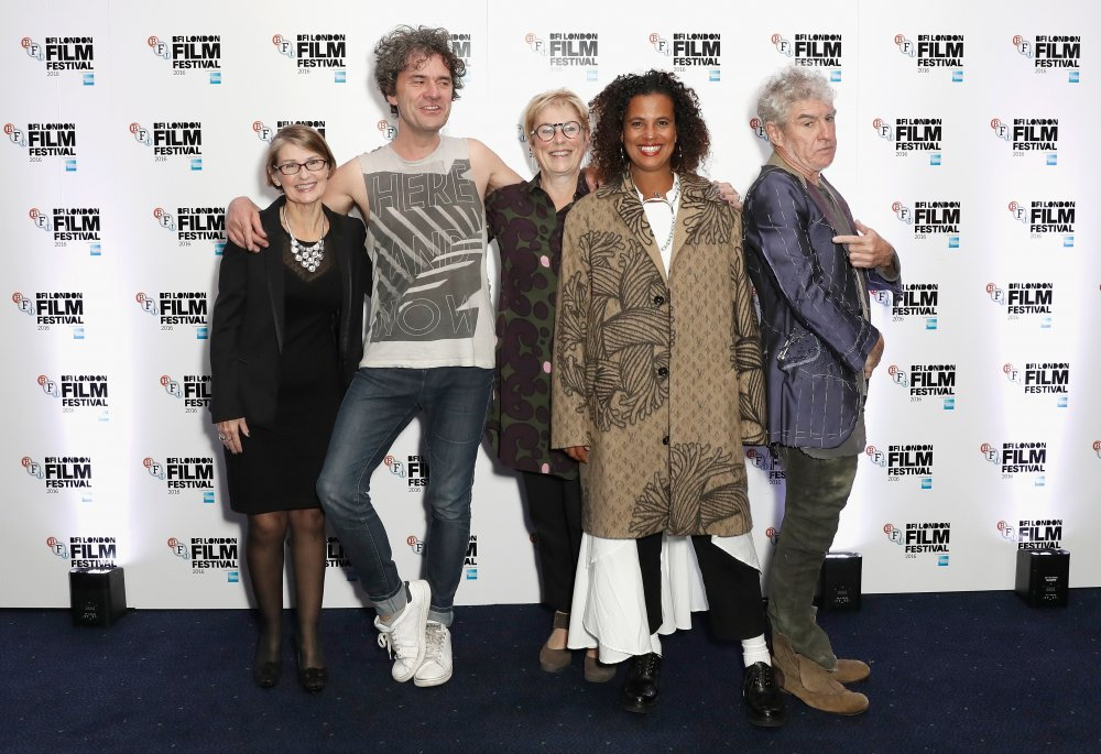 Mark Cousins, Neneh Cherry, Christopher Doyle and guests attend the screening of Stockholm My Love