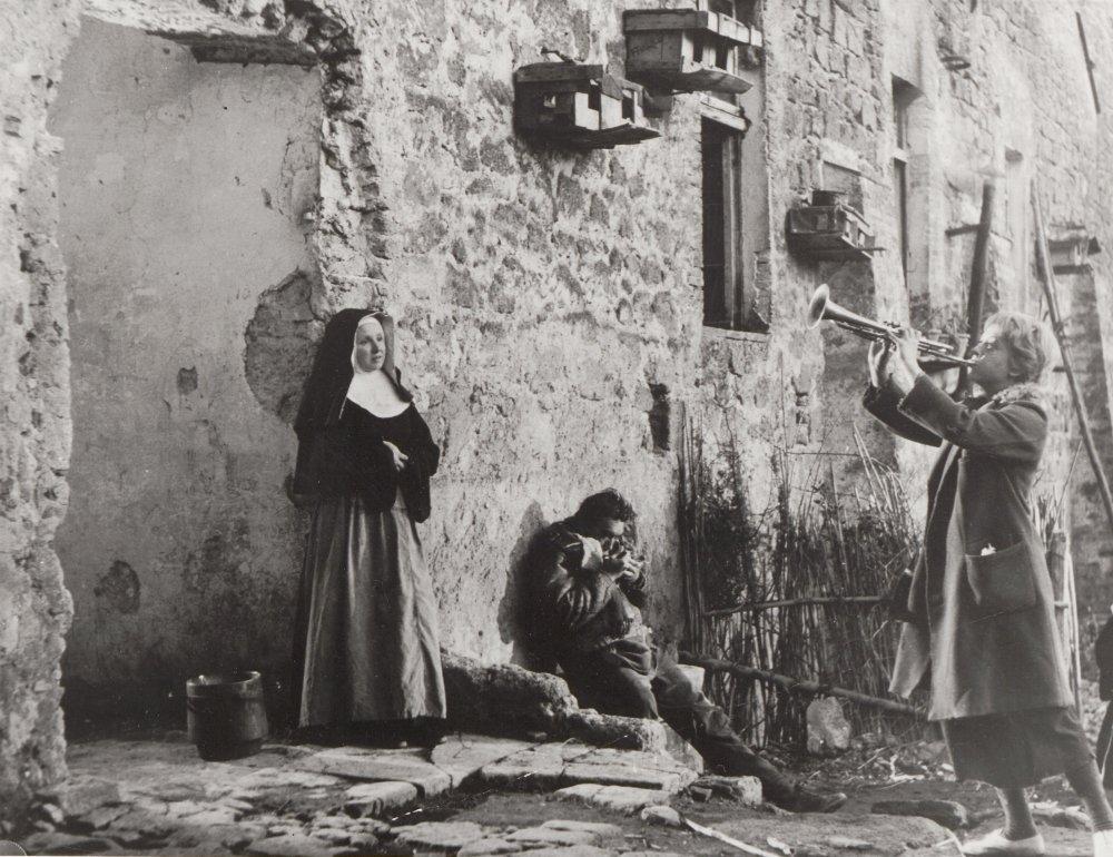 Giulietta Masina as Gelsomina in La Strada (1954)