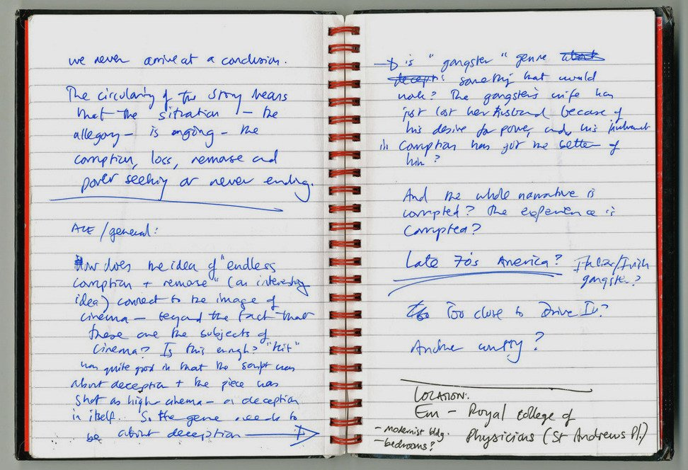 Stuart Croft notebook