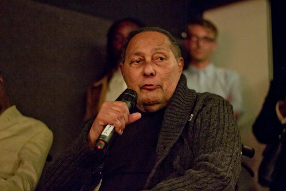 Stuart Hall at a screening of The Stuart Hall Project at the ICA in September 2013
