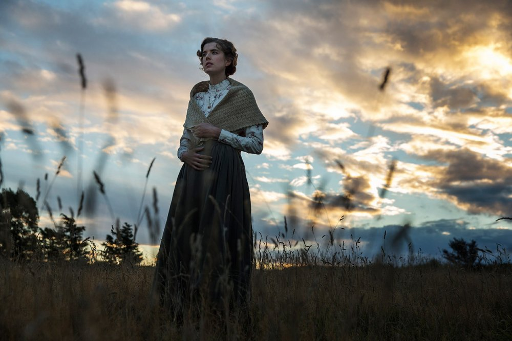 Agyness Deyn as Chris in Terence Davies' adaptation of Lewis Grassic Gibbon's 1932 novel