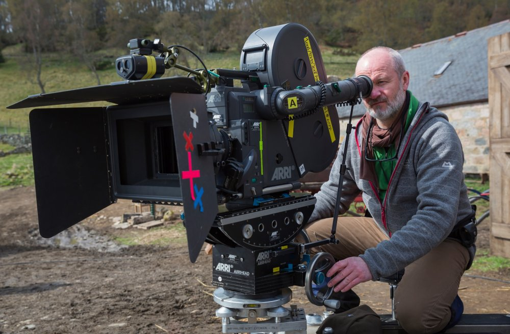 Cinematographer Michael McDonough (Winter's Bone). The film's magic-hour lit exteriors in the fields were shot with a 65mm Arriflex camera to help capture the rolling beauty of the landscape