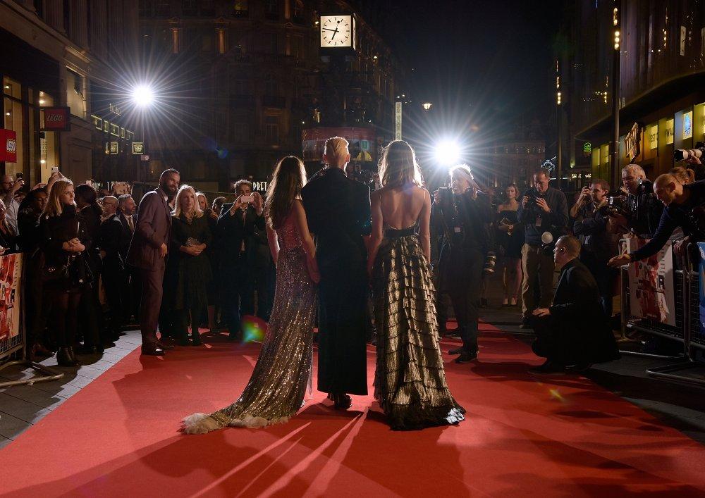 Suspiria red carpet at the 62nd BFI London Film Festival