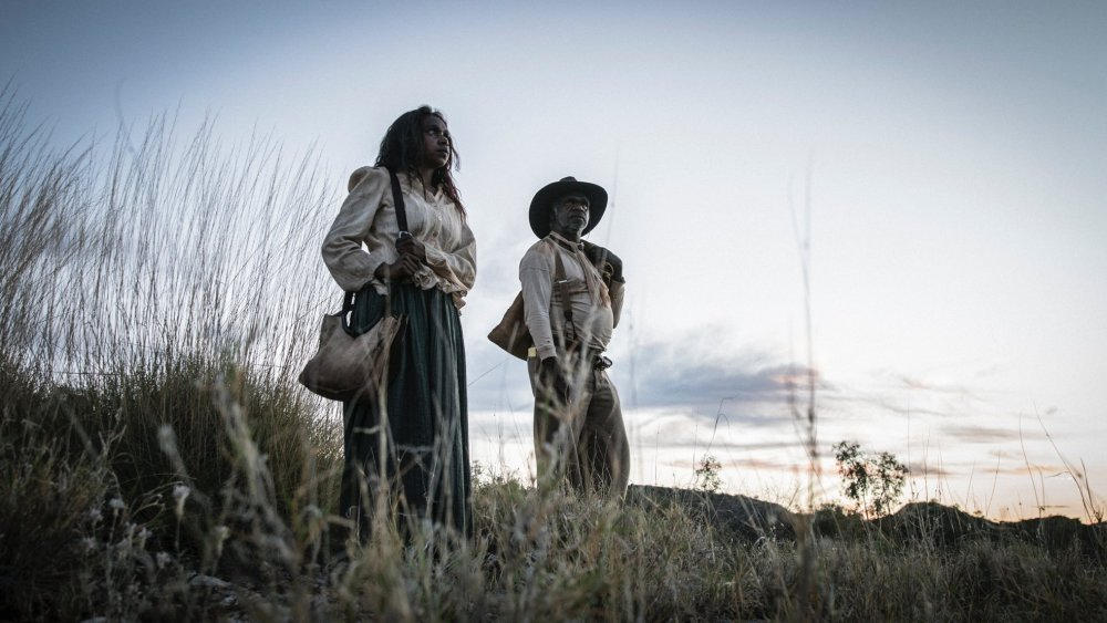 Natassia Gorey-Furber as Lizzie and Hamilton Morris as Sam Kelly in Sweet Country