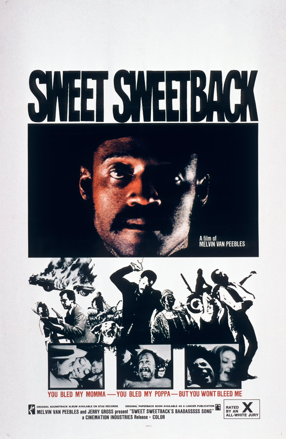 Sweet Sweetback's Baad Asssss Song (1971) film poster