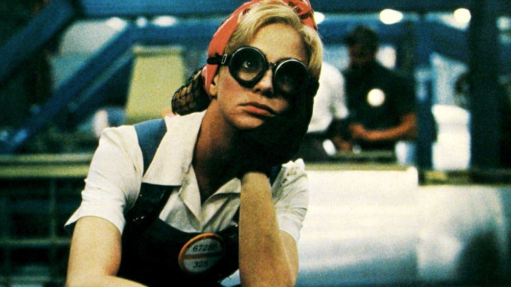Kay Walsh as housewife turned wartime factory worker Kay Walsh in Swing Shift (1984), renounced by its director Jonathan Demme