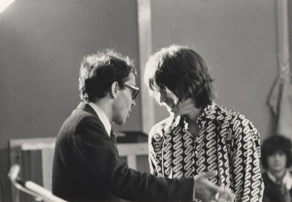 Godard had been due to work on a film discussing the legalisation of abortion, but, with a change in the law rendering the project redundant, the French director told the producers he'd still make a film in Britain, but only if he could work with The Beatles or the Stones. The Beatles declined but Mick Jagger and co happily agreed. The resulting film includes precious footage of recording sessions at Olympic Studios in Barnes, where the band were in the middle of recording their seventh album, Beggars Banquet