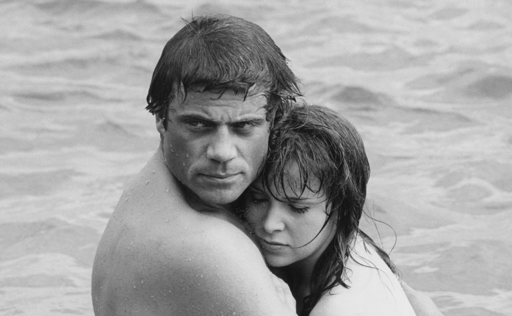 Oliver Reed and Jane Merrow in The System (1964)