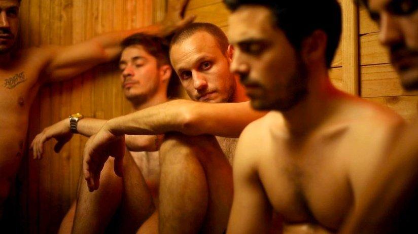 camp out studio macho gay tube