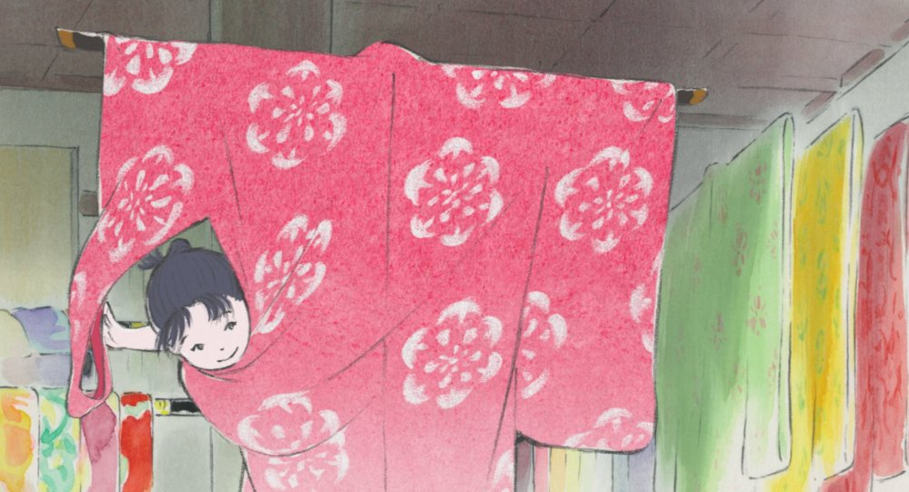 The Tale of the Princess Kaguya (2013)