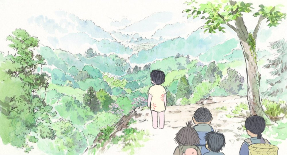 The Tale of the Princess Kaguya (Kaguya-hime no monogatari, 2013)