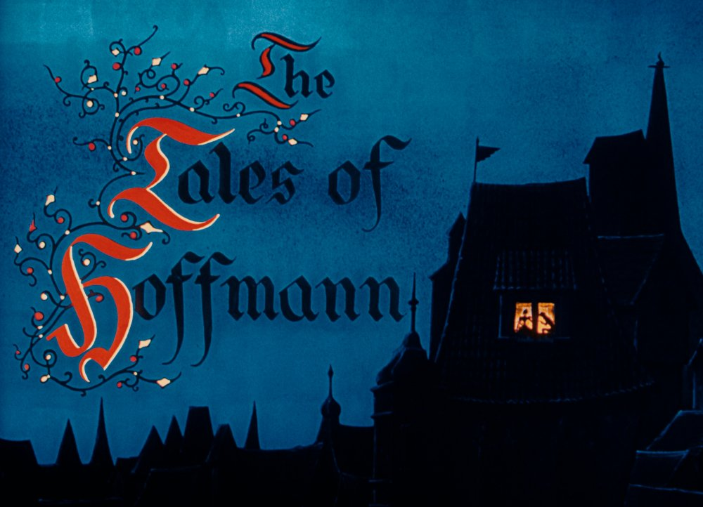 Opening titles from The Tales of Hoffmann © 1951 STUDIOCANAL FILMS Ltd.