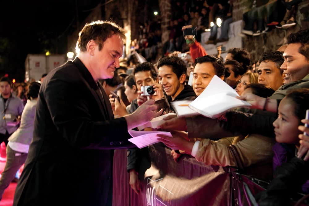 Quentin Tarantino at the Morelia International Film Festival
