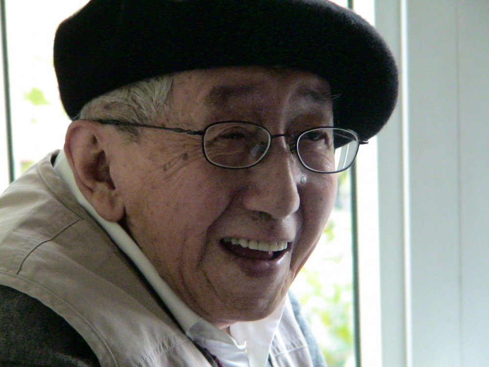 Te Wei in 2006, four years before his death at the age of 94