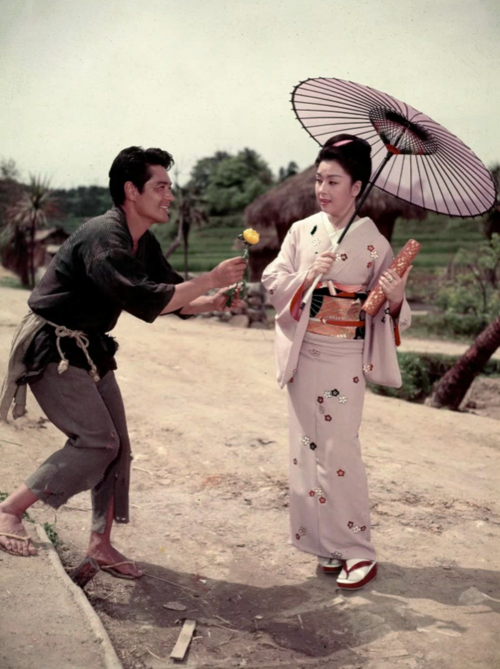 Kyo as Lotus Blossom in The Teahouse of the August Moon (1956)