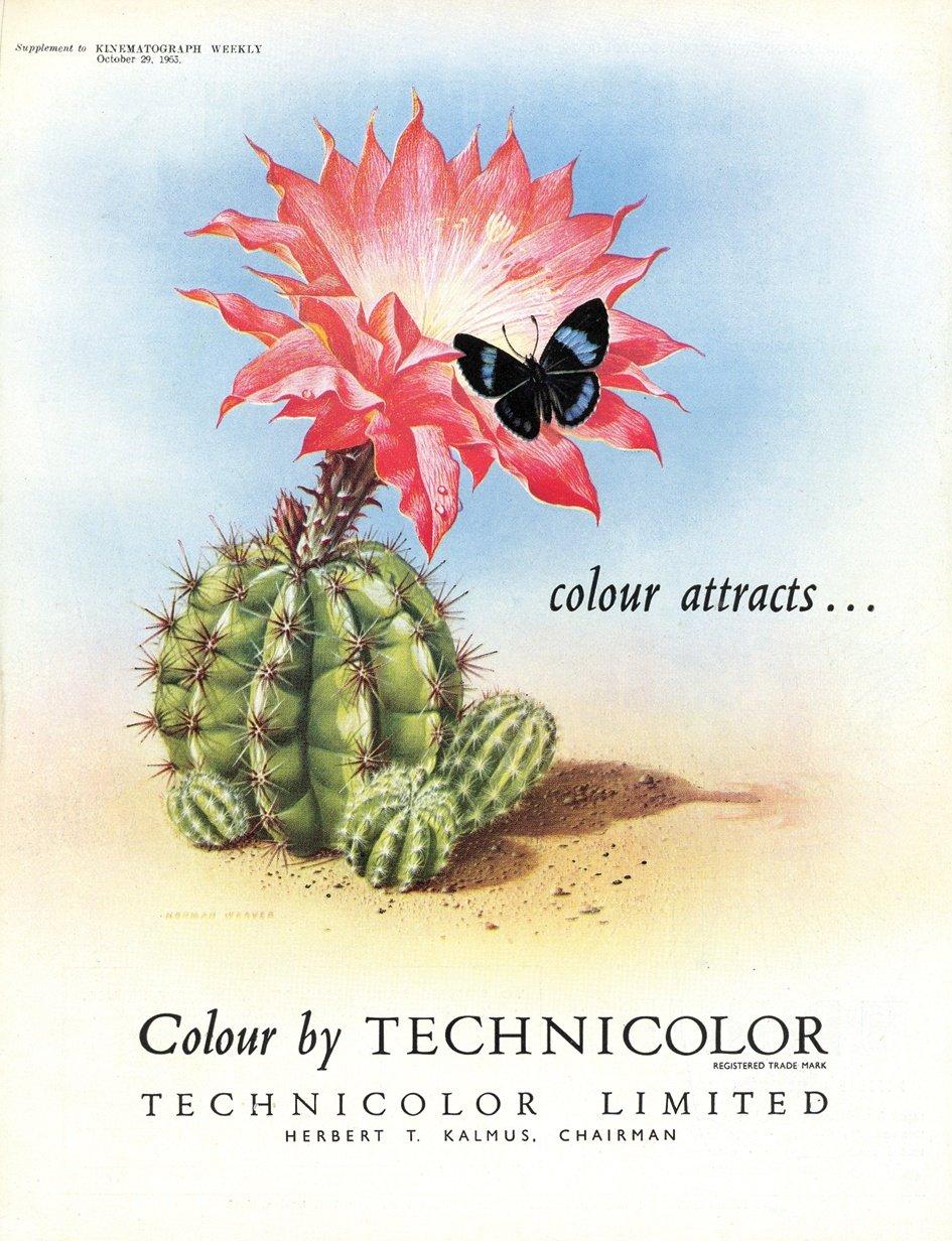 1953 advertisement for Technicolor