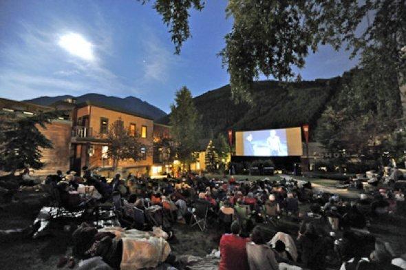Telluride's Abel Gance Outdoor Cinema