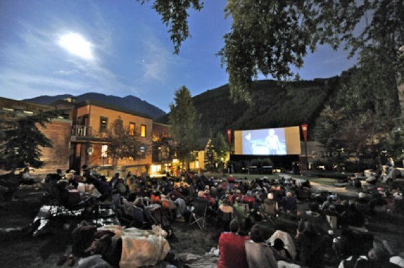 Telluride's Abel Gance Outdoor Cinema