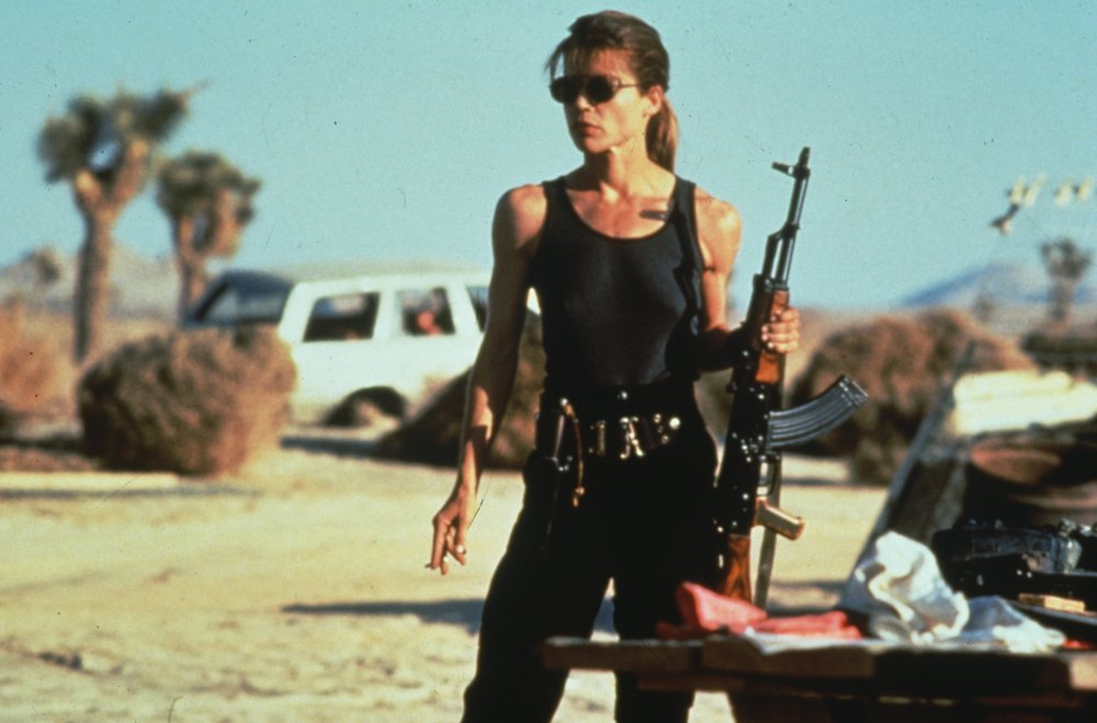 Terminator 2 Judgment Day (1991): Linda Hamilton as Sarah Connor