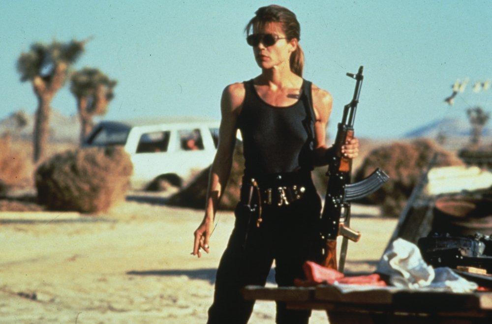 Terminator 2 Judgment Day (1991): Linda Hamilton as Sarah Connor
