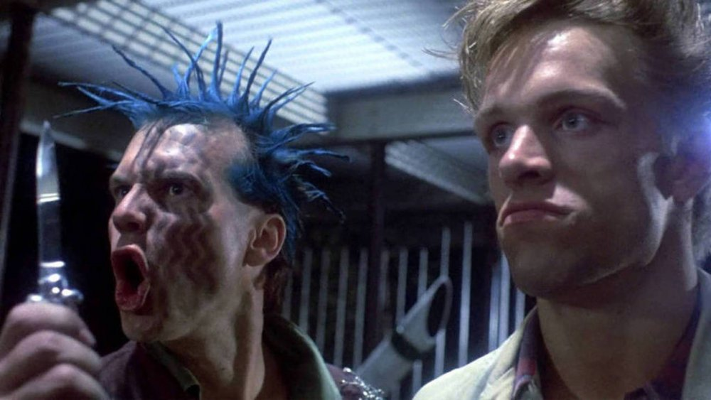 As the punk leader in James Cameron's The Terminator (1984)
