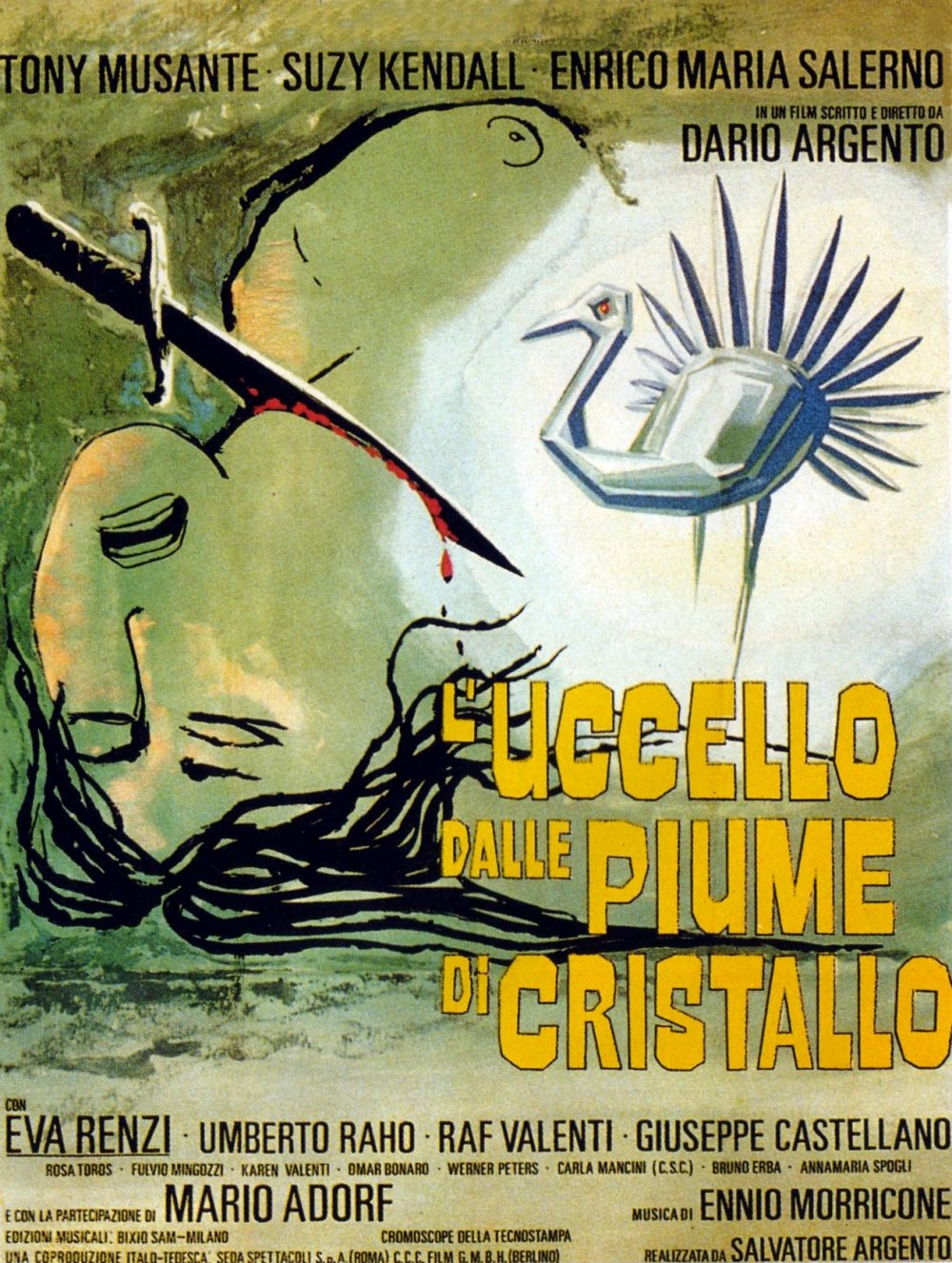 Poster for The Bird with the Crystal Plumage (1970)
