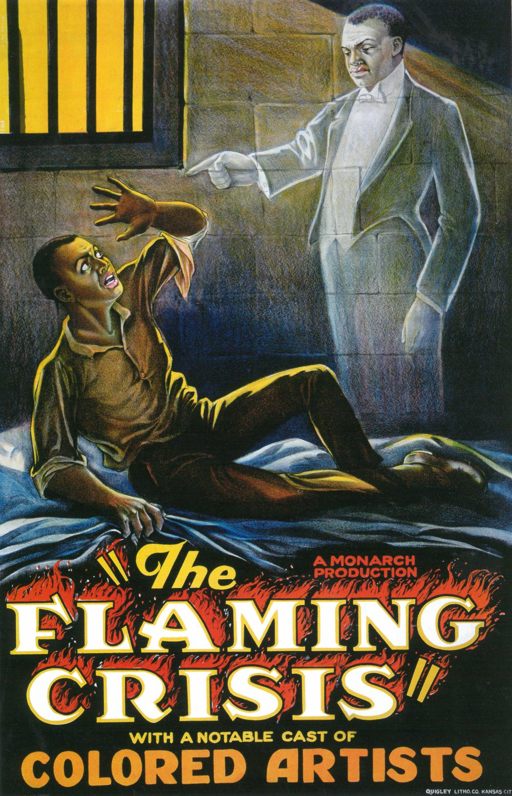 The Flaming Crisis (1924) was a meldroma from Monarch Productions, a black-owned production company in New York