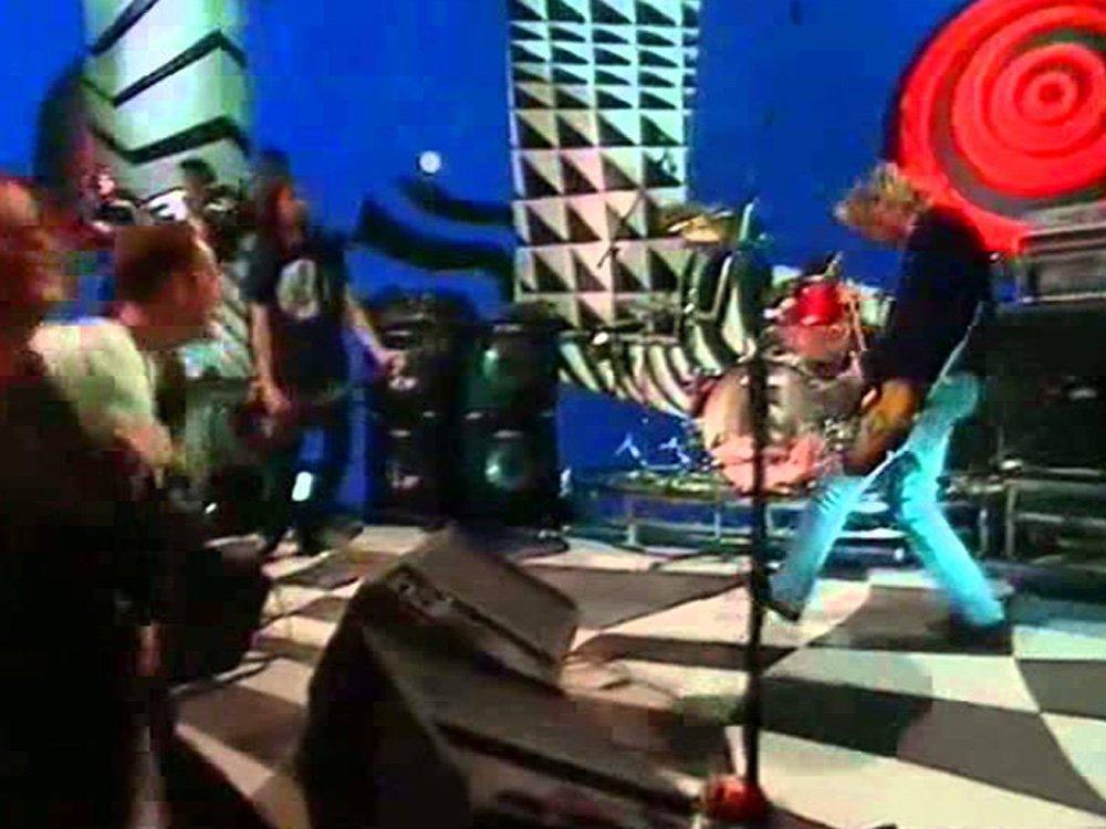 Nirvana performing Smells Like Teen Spirit on The Word (1990-1995)