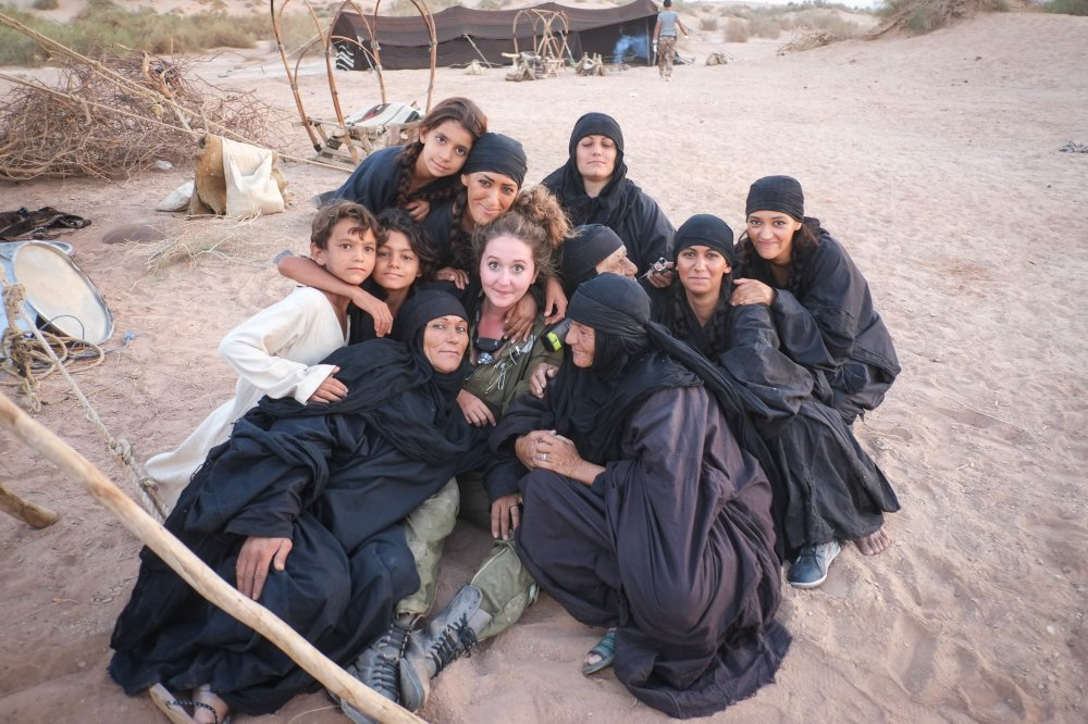 Behind the scenes with Bedouin women, their children and Theeb's production designer Anna Lavelle