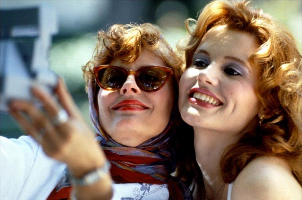 "Louise Sawyer (Susan Sarandon) in Thelma <span class=""amp"">&</span> Louise (1991)"