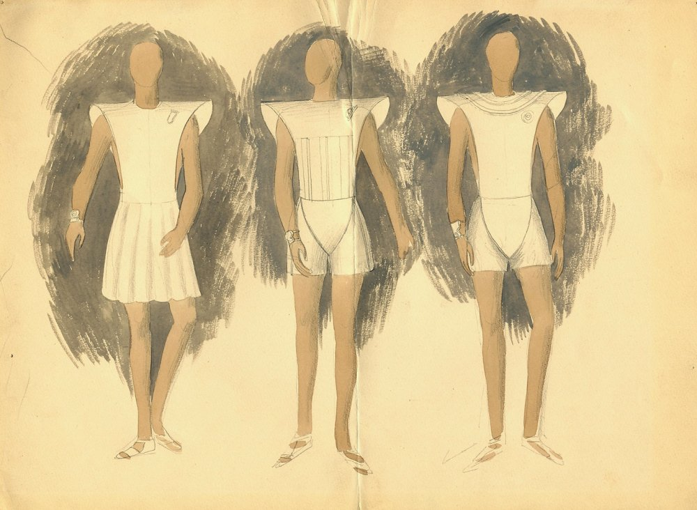 Costume design for Things to Come (1936)