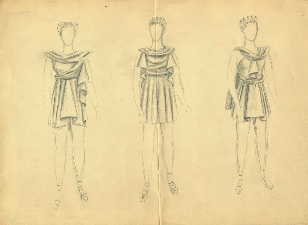 Costume designs for Things to Come (1936)