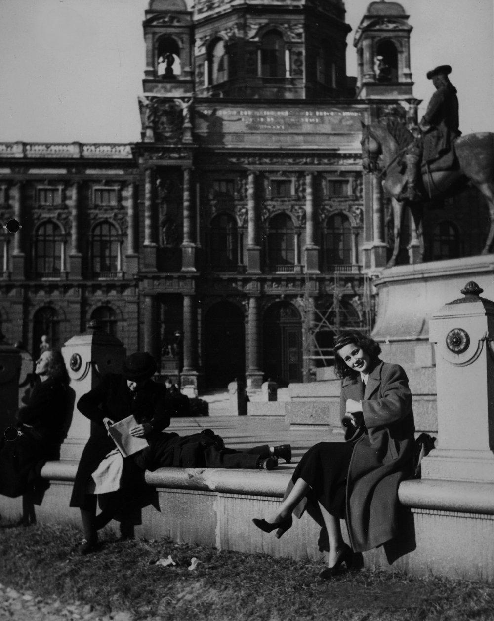 The Third Man (1949): Alida Valli behind the scenes