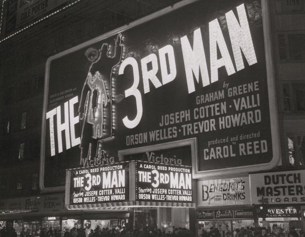 The Third Man (1949) premier