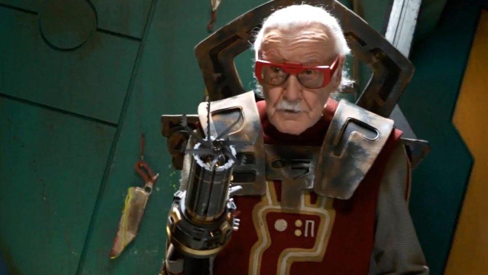 As Barber (uncredited) in Thor: Ragnarok (2017)