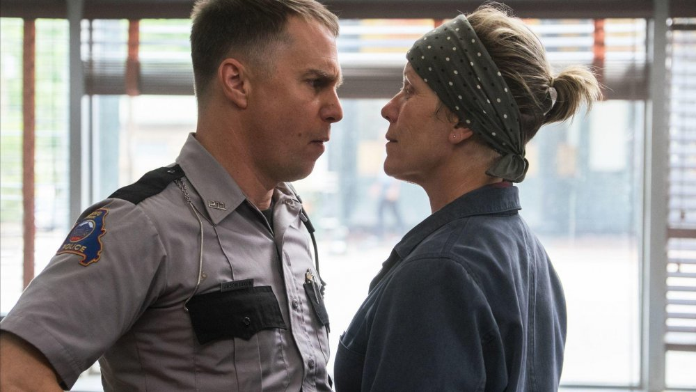 Sam Rockwell as Officer Dixon with McDormand