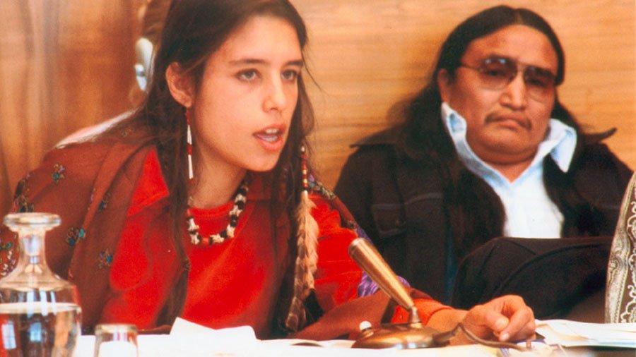 Winona LaDuke in the documentary Thunderbird Woman (2003)