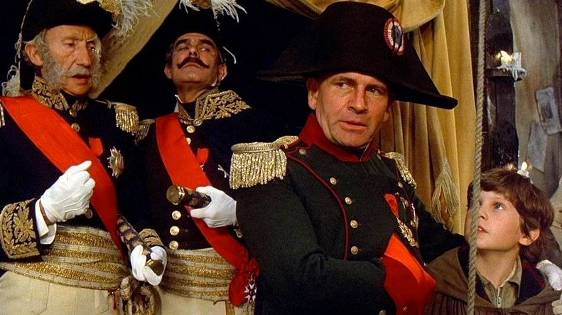 As Napoleon in Time Bandits (1981)