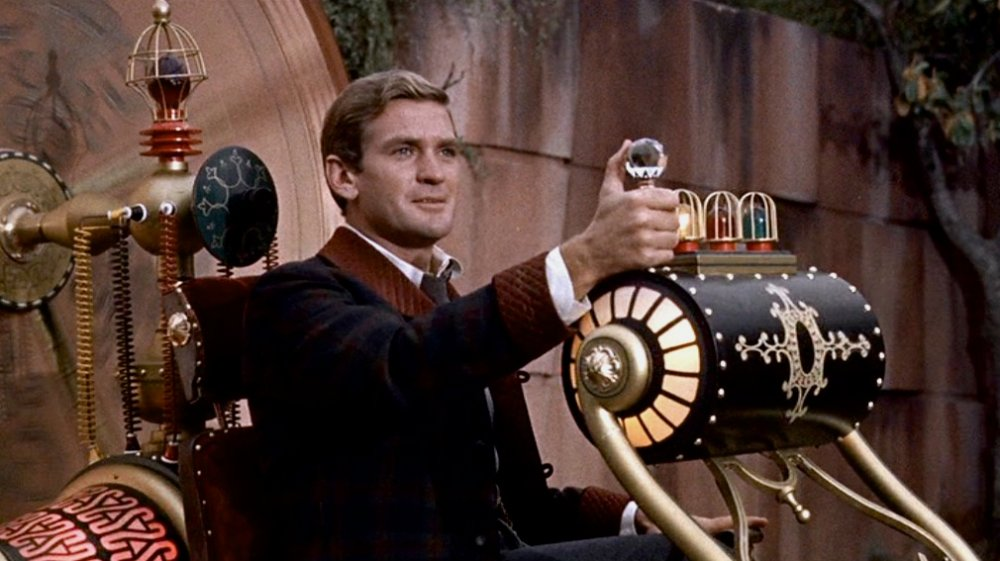 """imagery and symbolism in the time machine a novel by hg wells In """"the time machine,"""" wells's hero burrows into h g wells's ghost """"the time machine"""" is sometimes dismissed as a kid's book, but wells."""