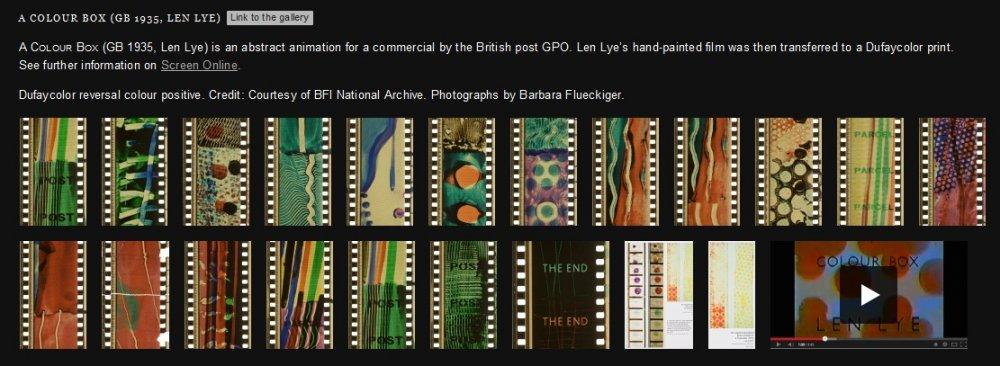 Timeline of Historical Film Colours